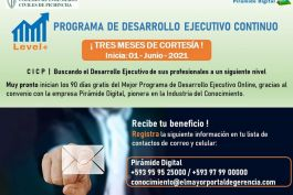 CICP buscando el desarrollo de sus profesionales a un siguiente nivel!