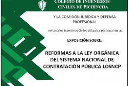 Exposición Comisión Jurídica y Defensa Profesional