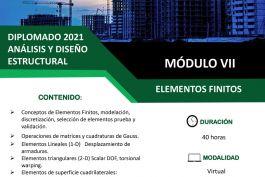 """Diplomado 2021 Analisis y Diseño Estructural """"Elementos Finitos"""""""