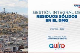 Gestión Integral de Residuos Sólidos en el DMQ