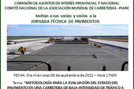 JORNADA TÉCNICA DE PAVIMENTOS