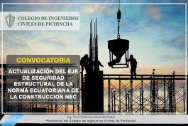 Proceso de Actualización de los Capítulos del Eje de Seguridad Estructural