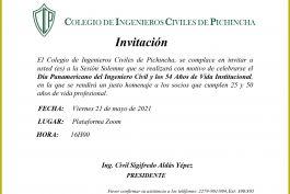 INVITACIÓN Sesión Solemne