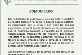 Comunicado - Reforma al Art. 22 numeral 4 a la LOSNCP