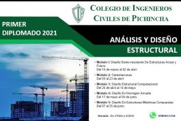 """I Diplomado 2021: """"Análisis y Diseño Estructural"""""""