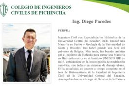 ENTREVISTA | Ing. Diego Paredes