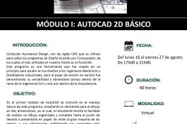 "MODULO I ""AUTOCAD 2D Básico"""