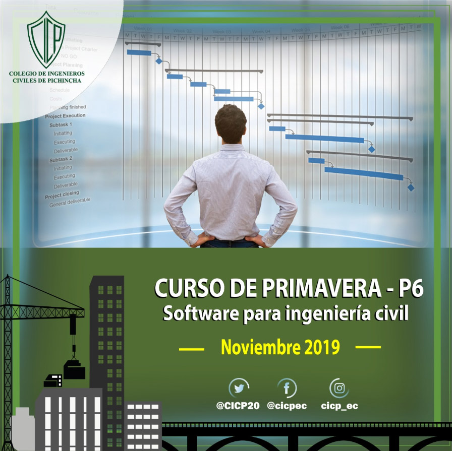 Curso de Primavera - P6 Software para ingeniería civil