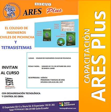 Capacitación: ARES Plus